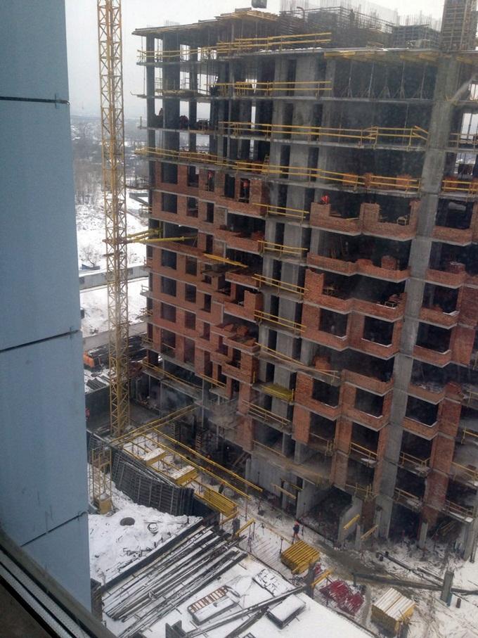 ЖК Ривер Стоун ход строительства дома 7