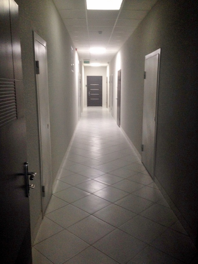 ЖК Ривер Стоун отделка коридоров