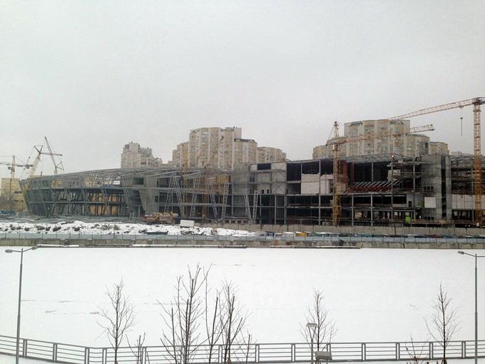 ЖК Ривер Стоун торговый центр