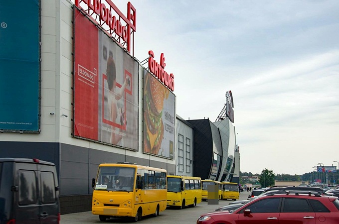 ЖК Велкам хоум на Стеценко маршрутки Лавина молл