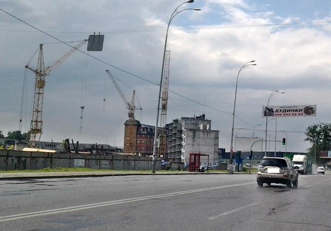 ЖК Велкам хоум на Стеценко старый ход строительства