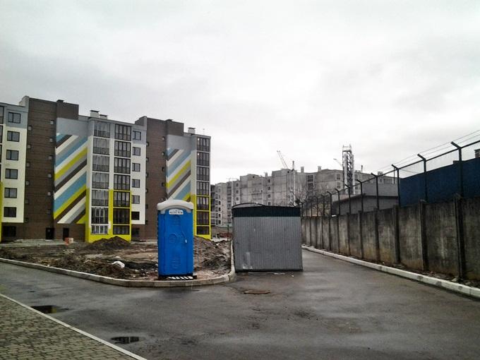 ЖК Велкам хоум на Стеценко стройплощадка