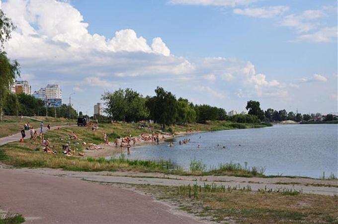 ДПТ Радужный массив озеро Радунка