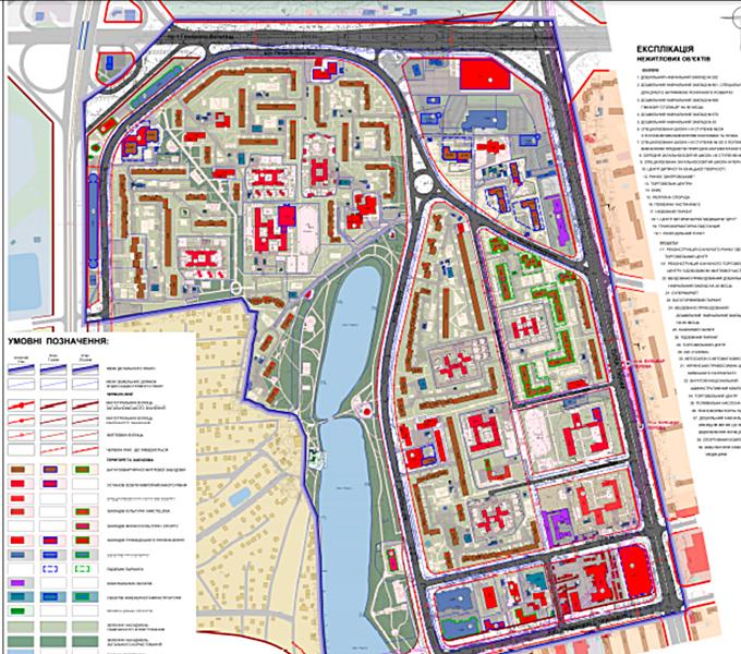 ДПТ Радужный массив проектный план