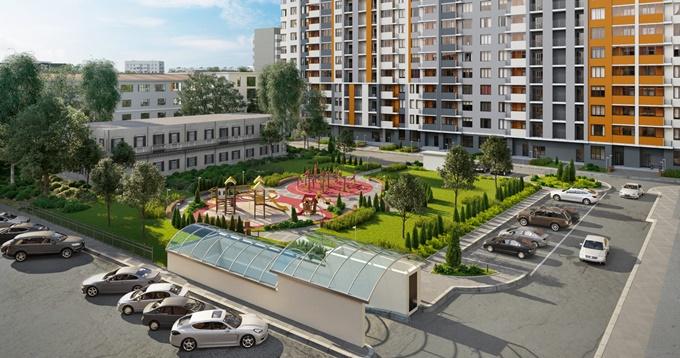 ЖК Дніпровська мрія подземный паркинг