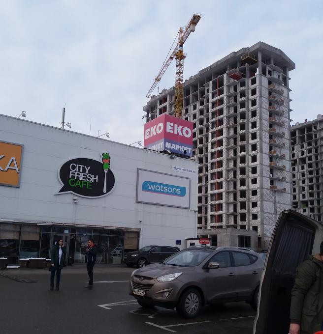 ЖК Гранд Бурже Буча ТЦ Модуль