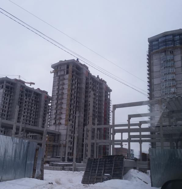 ЖК Гранд Бурже Буча фото хода строительства