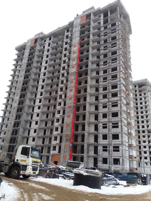 ЖК Гранд Бурже Буча ход строительства второго и третьего домов