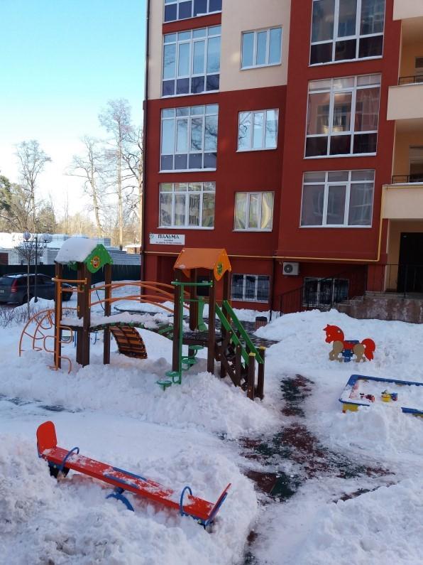 ЖК Грин Лайф Ирпень детская площадка