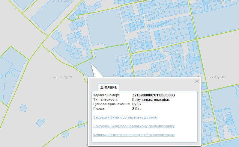 ЖК Грин Ярд Ирпень кадастроя карта