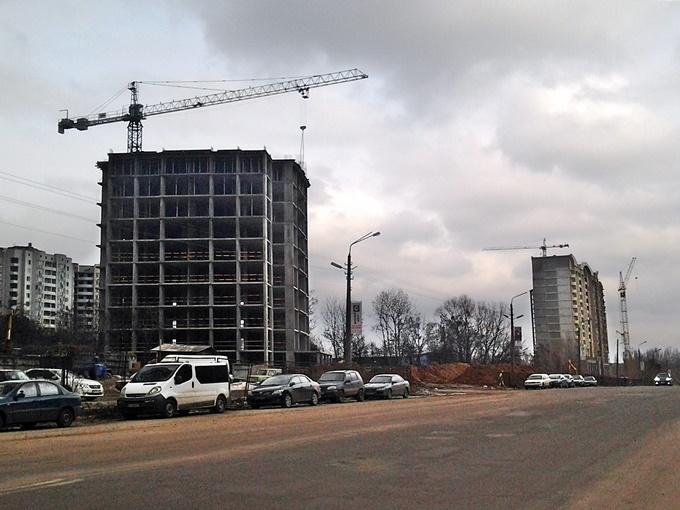 ЖК Эврика Теремки ход строительства и парковка