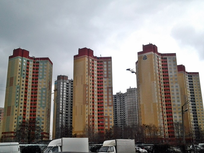 ЖК Эврика Теремки расположение домов