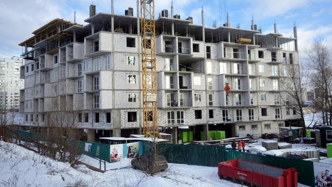 ЖК Славский Троещина ход строительства