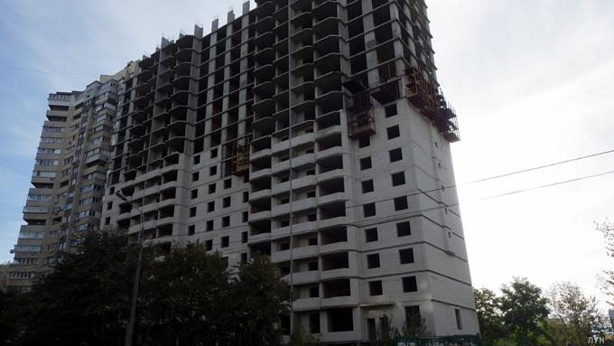 ЖК Солар Сити Укрбуд ход строительства 2014