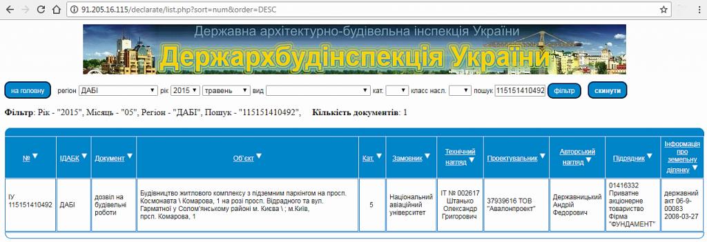 ЖК на Отрадном 2 данные о разрешении базы ГАСК