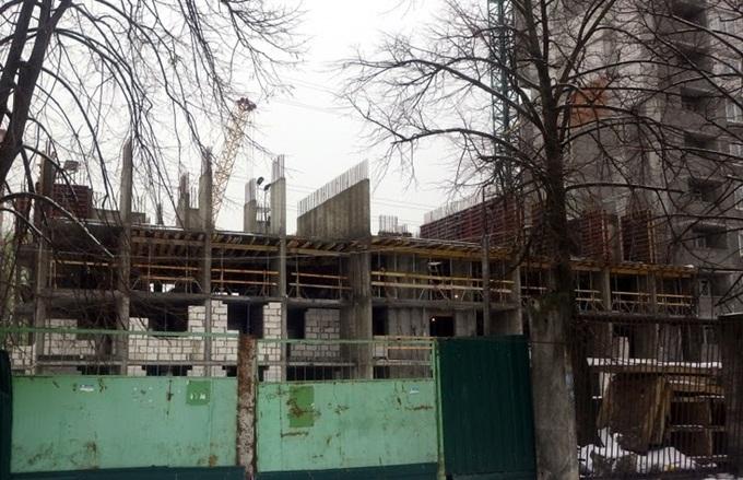 ЖК на Отрадном 2 ход строительства четвертой секции