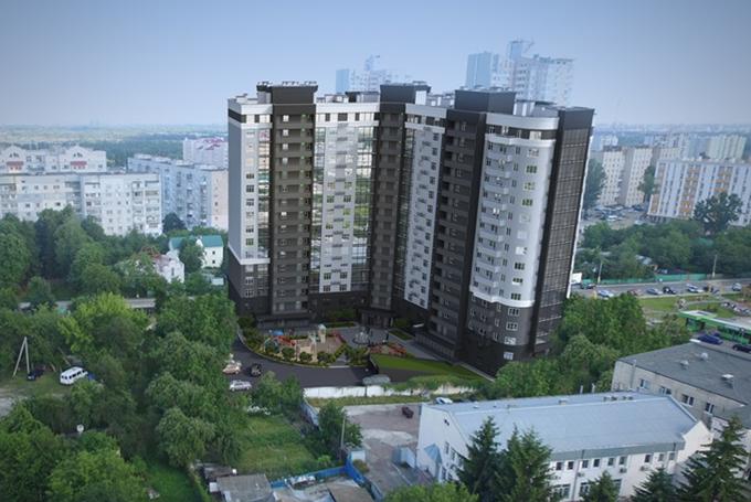 ЖК Борисо Глебский Вышгород вид двора
