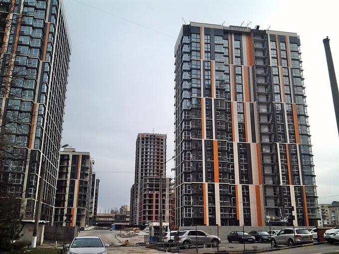 ЖК Французкий квартал 2 построенные дома