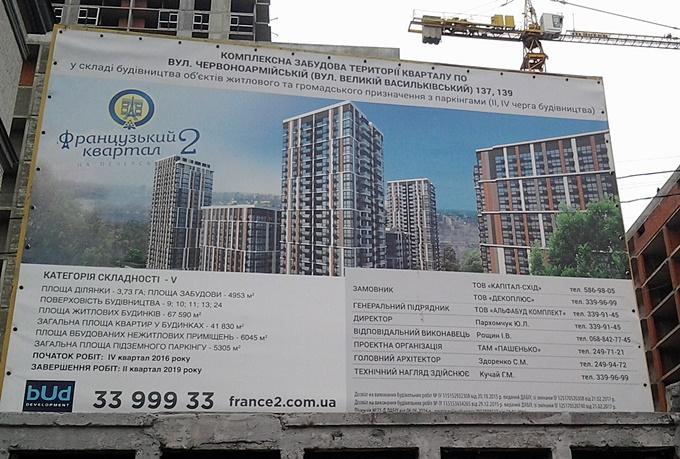ЖК Французкий квартал 2 строительный паспорт