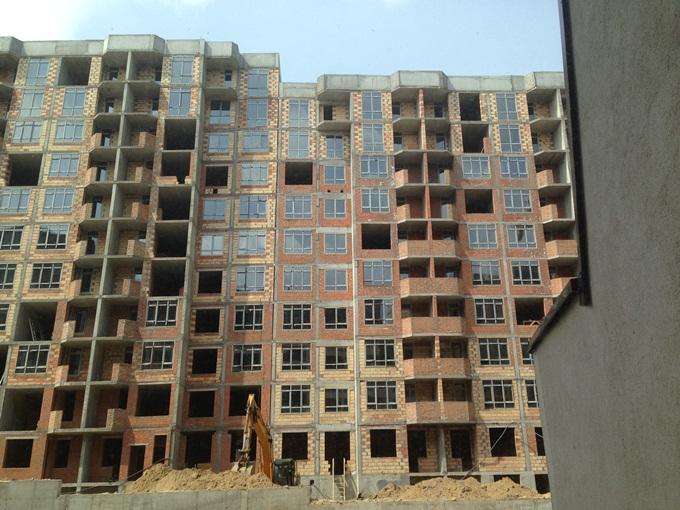 ЖК Львовский квартал ход строительства четвертого дома