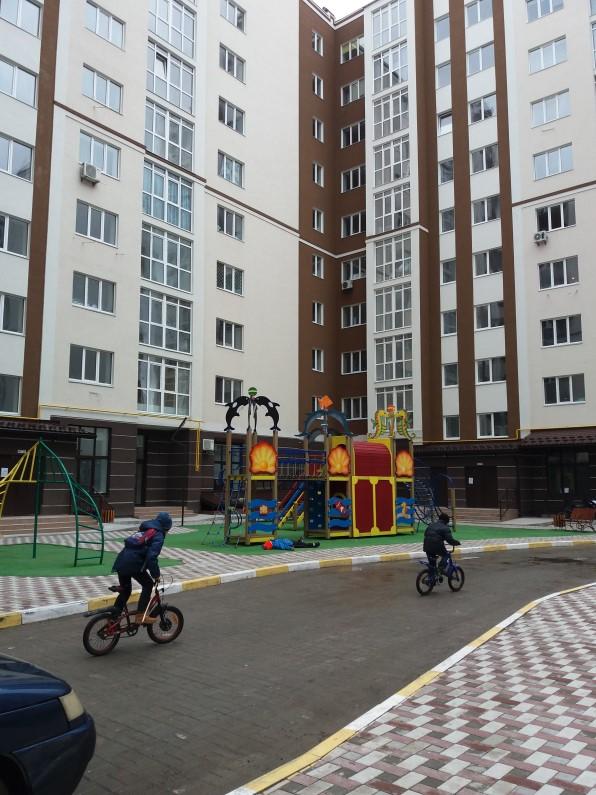 ЖК Миллениум Стейт в Буче двор