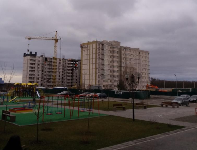 ЖК Новая Буча стройка дома