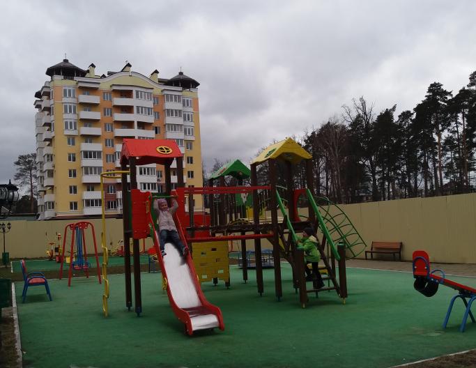 ЖК Паркова оселя Буча детская площадка