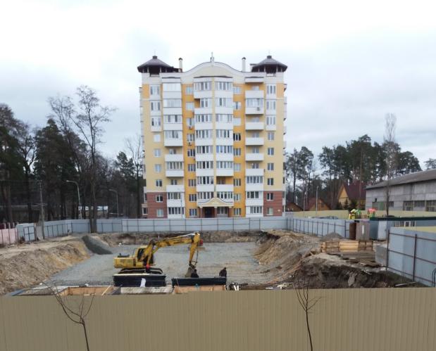 ЖК Паркова оселя Буча ход строительства пятого дома