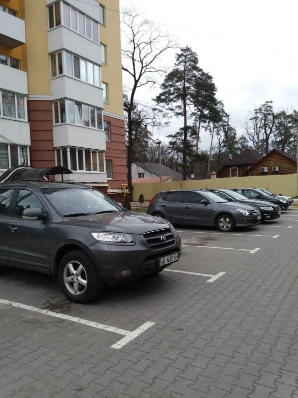 ЖК Паркова оселя Буча парковка