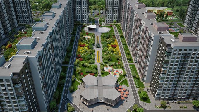 ЖК Парковый квартал Город цветов с собственной инфраструктурой