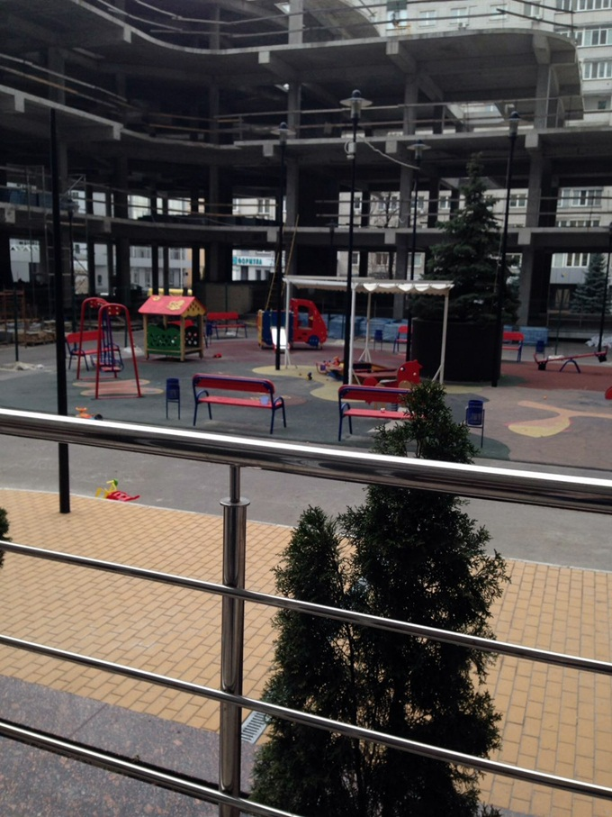 ЖК Престиж Хол детская площадка