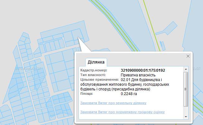 ЖК Сяйво 2 Ирпень данные кадастра
