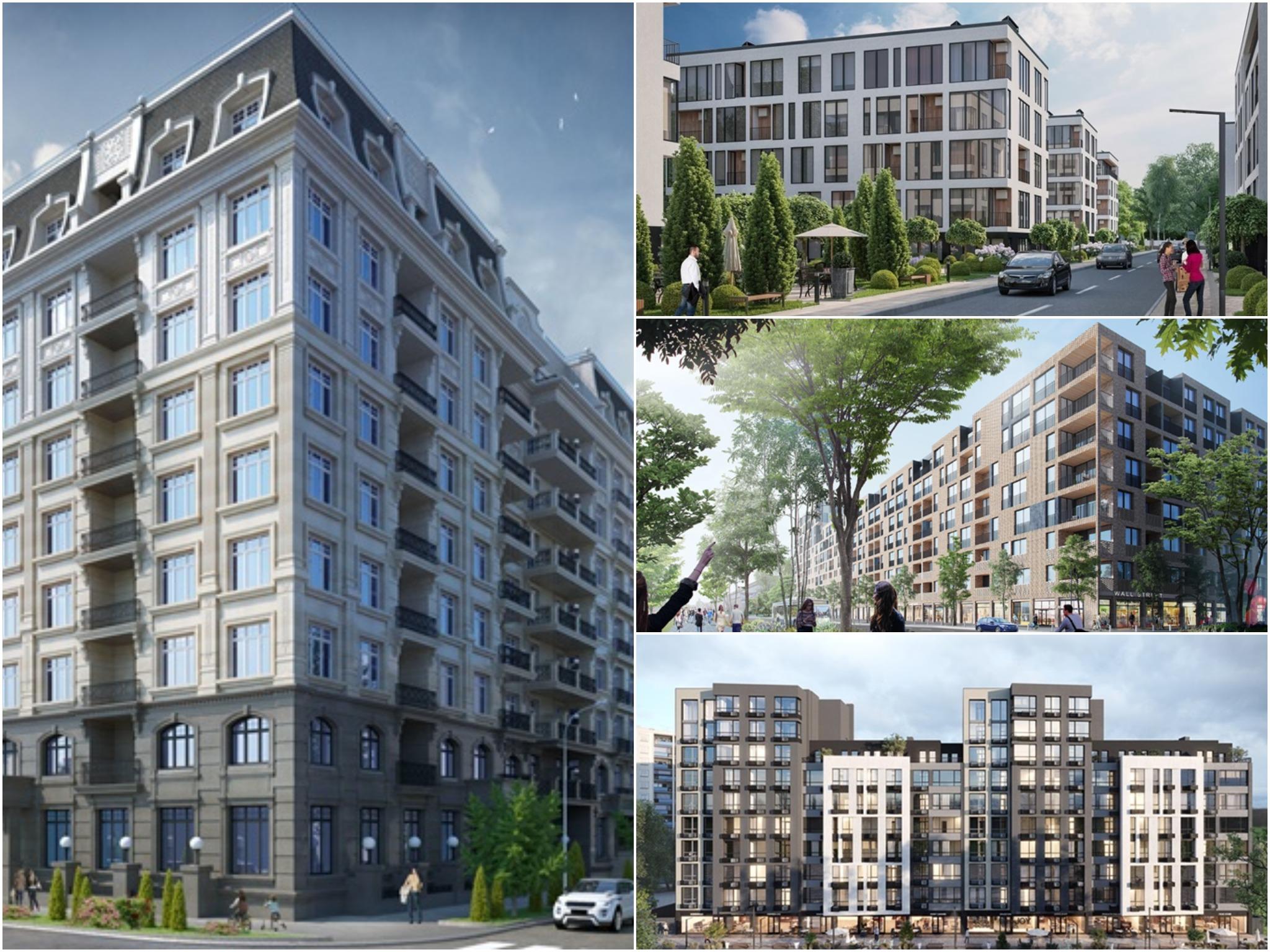 проекты столичных новостроек май 2018