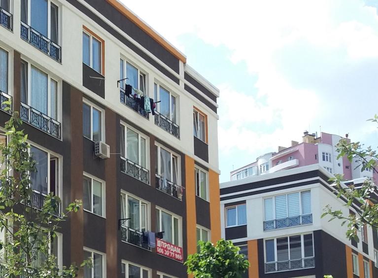 ЖК Фортуна 2 в Ирпене фасад без балконов