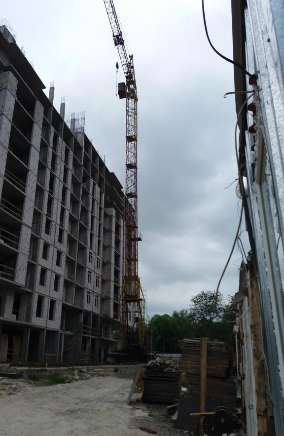 ЖК Голд сити в Буче ход строительства
