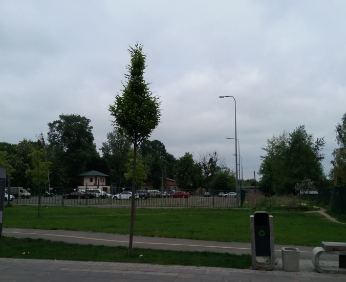 ЖК Голд сити в Буче парковка