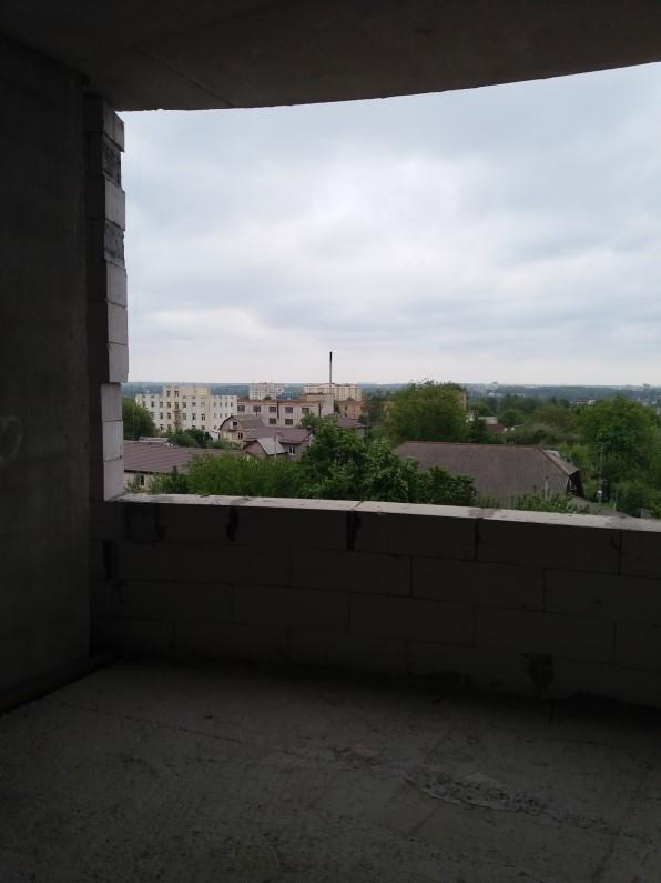 ЖК Голд сити в Буче вид из окон