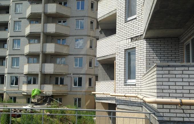 ЖК Петровский обновленный в Святопетровском фасад