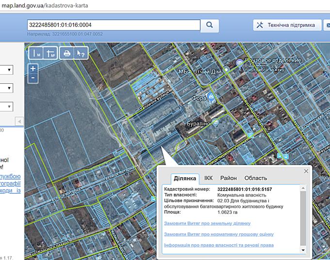 ЖК Петровский обновленный в Святопетровском кадастровая карта