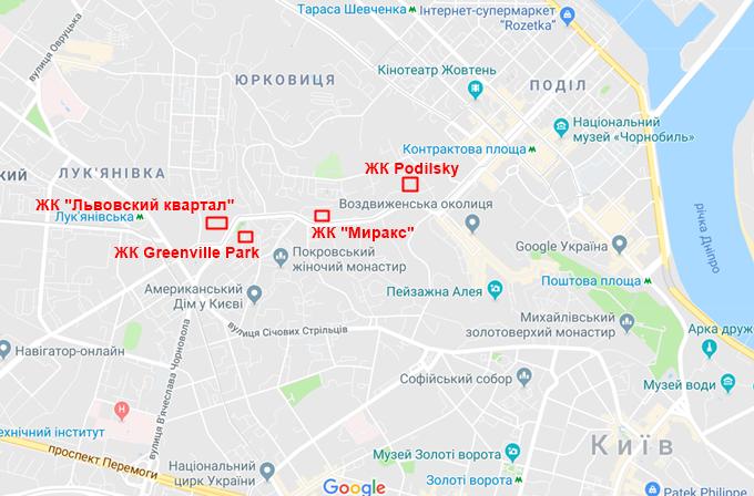 Клубный дом Подольский на карте
