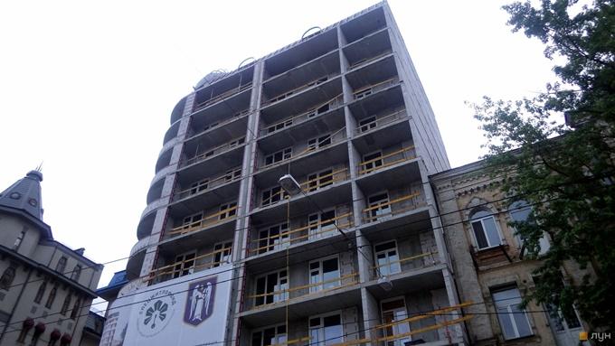 Клубный дом на Дмитриевской 60 19 ход строительства