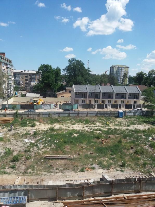 ЖК Атриум в Ирпене место стройки