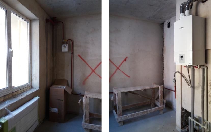 ЖК Атриум в Ирпене внутренняя отделка кухни