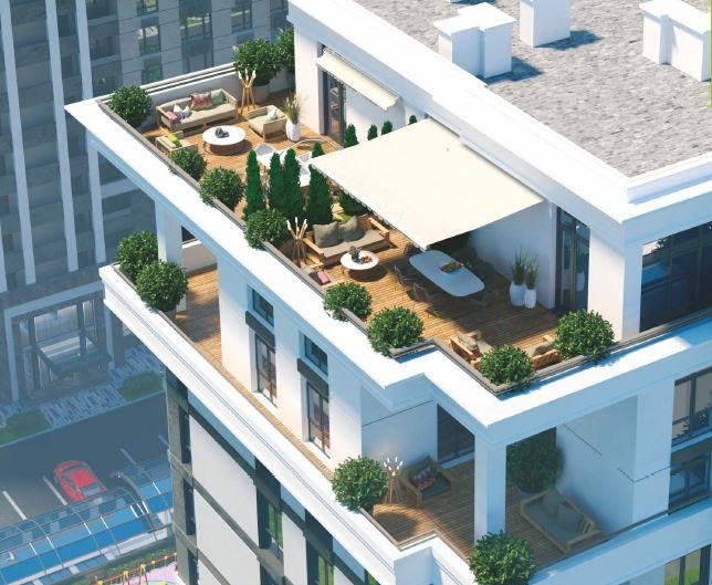 ЖК Центральный 2 в Ирпене квартиры с террасами