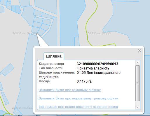 ЖК Есенин 2 в Ирпене кадастровая карта