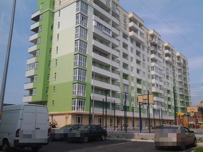 ЖК Киевские Зори в Вышгороде фасад второго дома