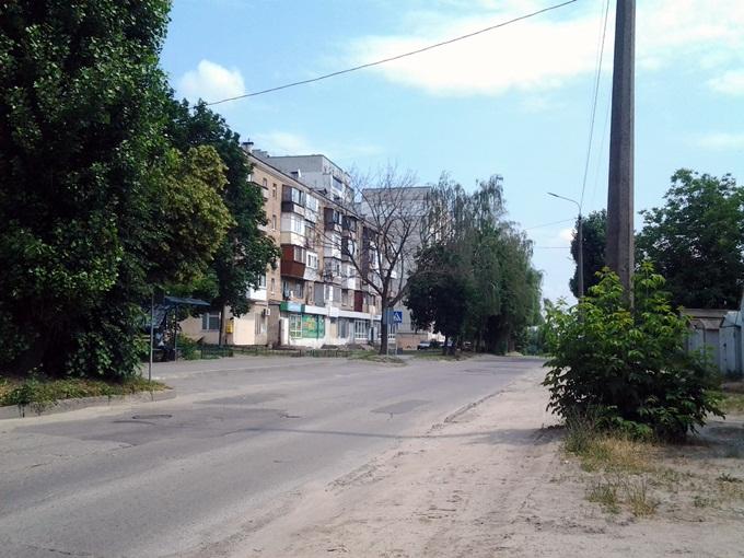 ЖК Киевские Зори в Вышгороде улица