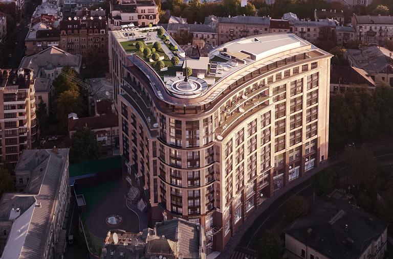 ЖК Linden Luxury Residences на Липках (короткий обзор)
