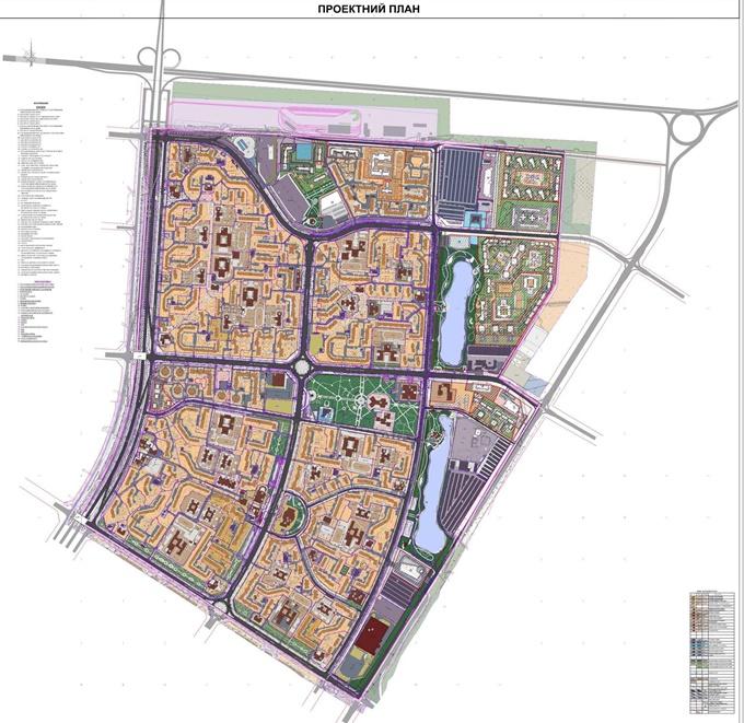 ДПТ Северная Троещина проектный план