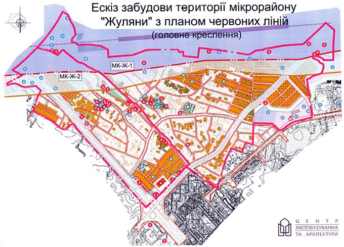 ДПТ Жуляны проектный план